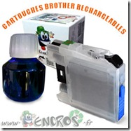 CARTOUCHE-RECHARGEABLE-BROTHER-LC125-CYAN