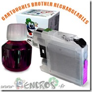 CARTOUCHE-RECHARGEABLE-BROTHER-LC125-MAGENTA