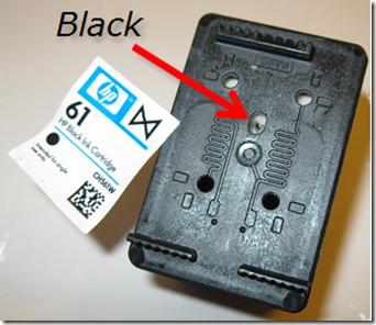 HP 61 noire