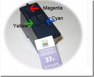 Lexmark 37a couleur