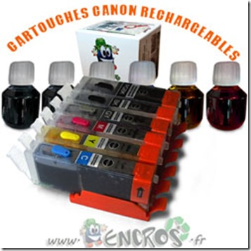 PACK-CANON-RECHARGEABLE-CLI551-PGI550-6COULEURS