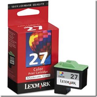 lexmark 27