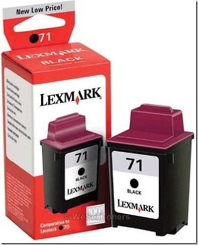 lexmark 71
